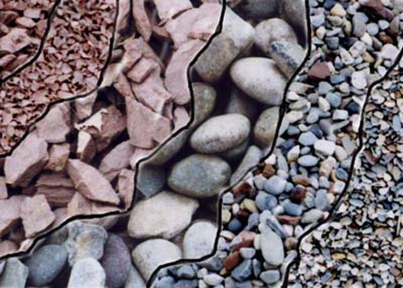 Iznad kopna filtra pijeska pijeska